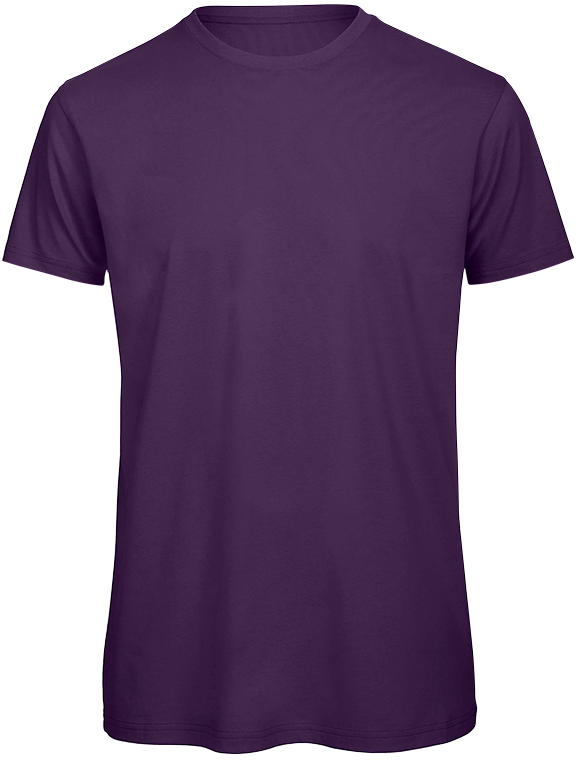 T-shirt bio Homme Purple