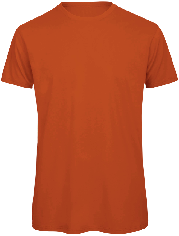 T-shirt bio Homme Urban-orange