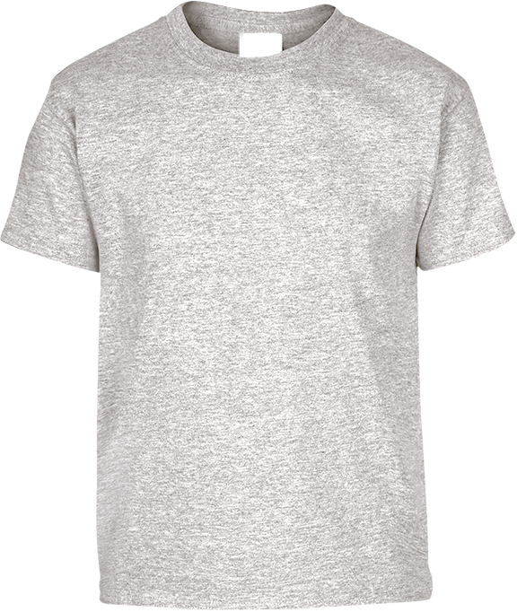 T-shirt Enfant Gris chiné