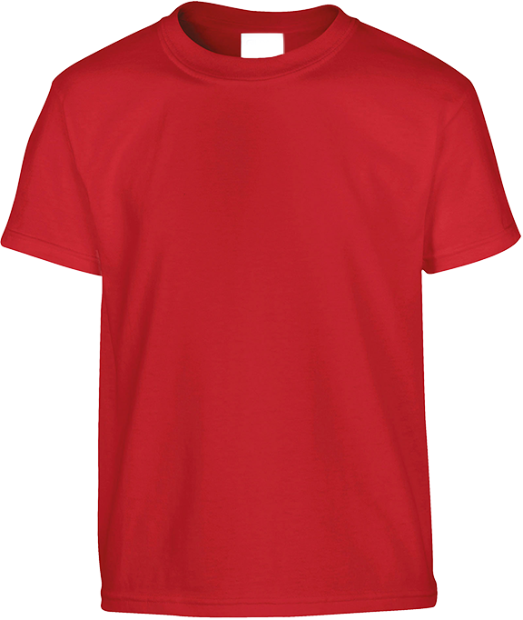 T-shirt Enfant Rouge